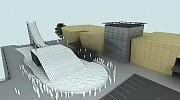 Wizualizacja 3d koncepcji przestrzennej