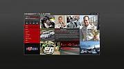 Projekt strony internetowej dla kierowcy rajdowego