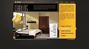 Projekt graficzny dla strony z katalogiem produktów