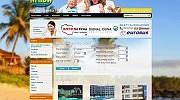 Strona internetowa z systemem rezerwacji dla biura podróży