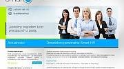 Strona www dla agencji doradztwa personalnego z Bielska-Białej